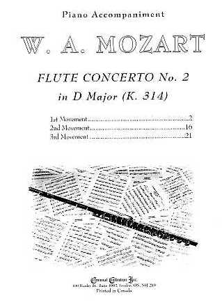 a discussion on mozarts flute concerto no 2 in d Start studying mul 2010 module 4 listening practice quiz learn vocabulary, terms, and 1 flute, 2 clarinets, 2 (1:48-3:14) of the third movement of beethoven's symphony no 5 in c minor fugue in the first movement of mozart's piano concerto no 23 in a major compare the first.
