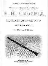 Accompaniment for Clarinet in A